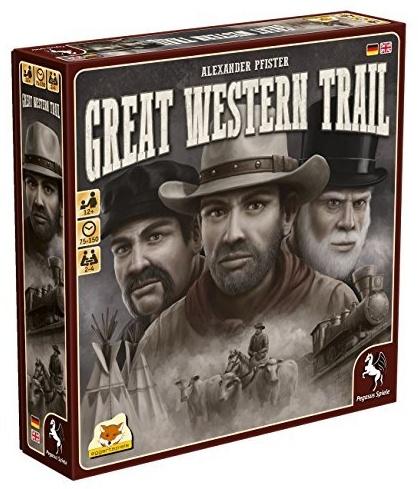 Pegasus Spiele 54590G - Great Western Trail (eggertspiele) Bild 1