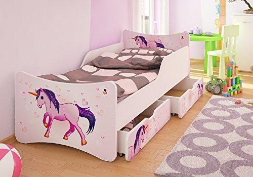 Best For Kids Kinderbett mit Schaummatratze 90x180, pink Bild 1