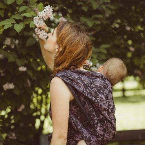 Didymos 'Dahlia Lin' Babytragetuch, Gr.8 Bild 1