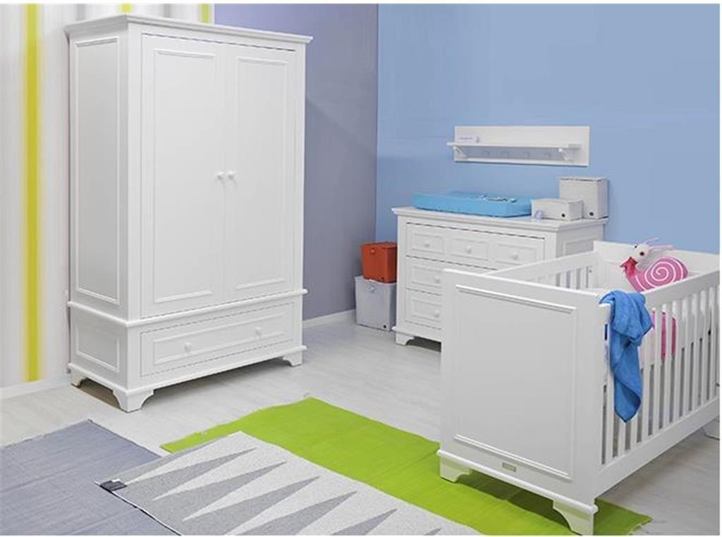 BOPITA 'Charlotte' 4tlg. Babyzimmer Set, weiß Bild 1