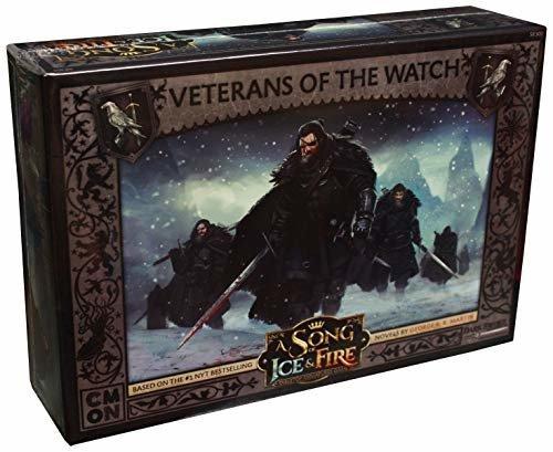 CoolMiniOrNot CMNSIF303 Song of Ice and Fire Miniaturspiel: Nights Veterans of The Watch Expansion Pack Bild 1