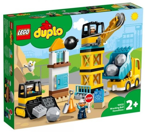 LEGO DUPLO® Baustelle - Baustelle mit Abrissbirne 10932 Bild 1