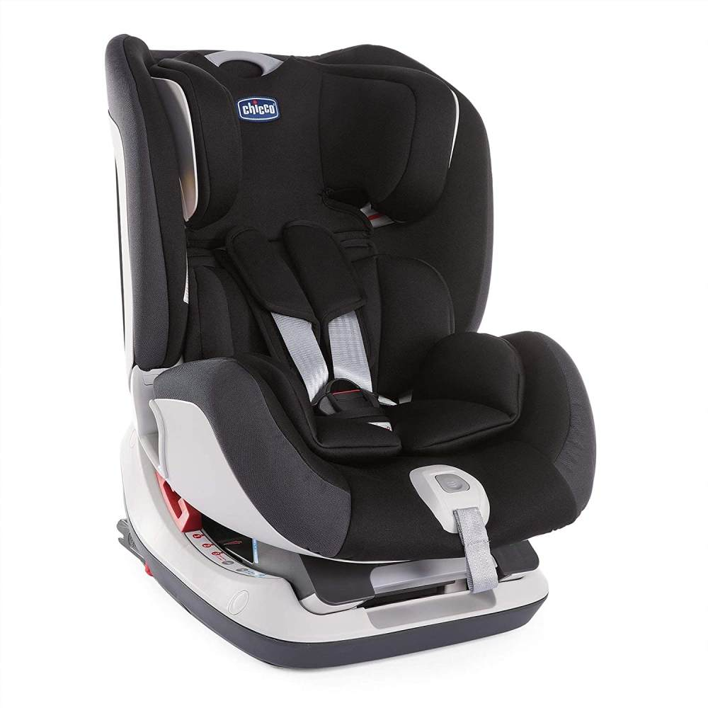 Chicco Seat-Up 012 Kinderautositz, jet black Bild 1
