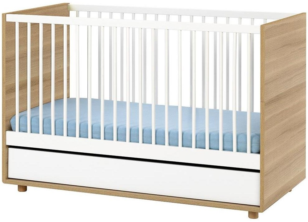 Vox 'Evolve' Kombi-Kinderbett weiß / natur Bild 1