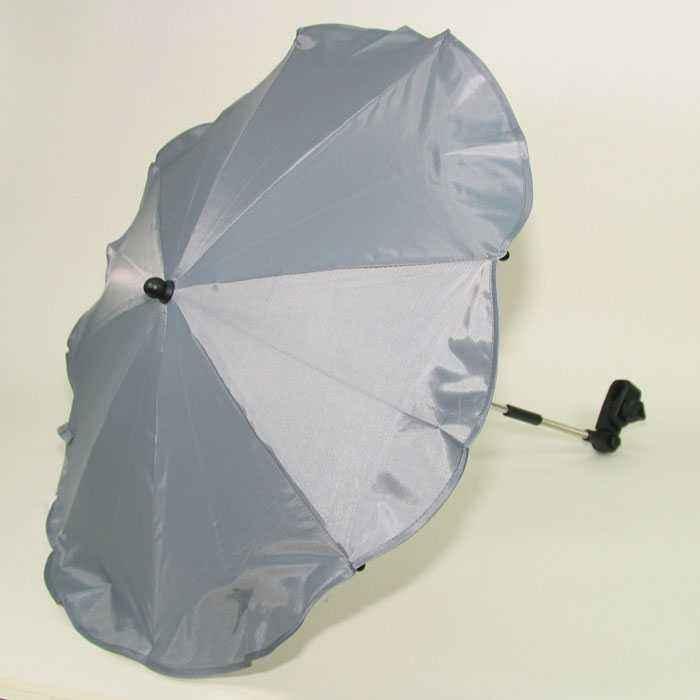 Altabebe AL7000-10 Sonnenschirm 70 cm Durchmesser mit UV-Schutz, grau Bild 1
