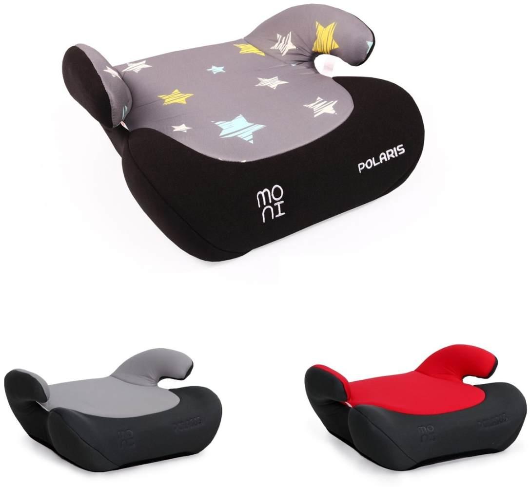 Moni 'Polaris' Kindersitz Gruppe 2 und 3 (15 bis 36 kg) von 3 bis ca. 12 Jahre grau Sterne Bild 1