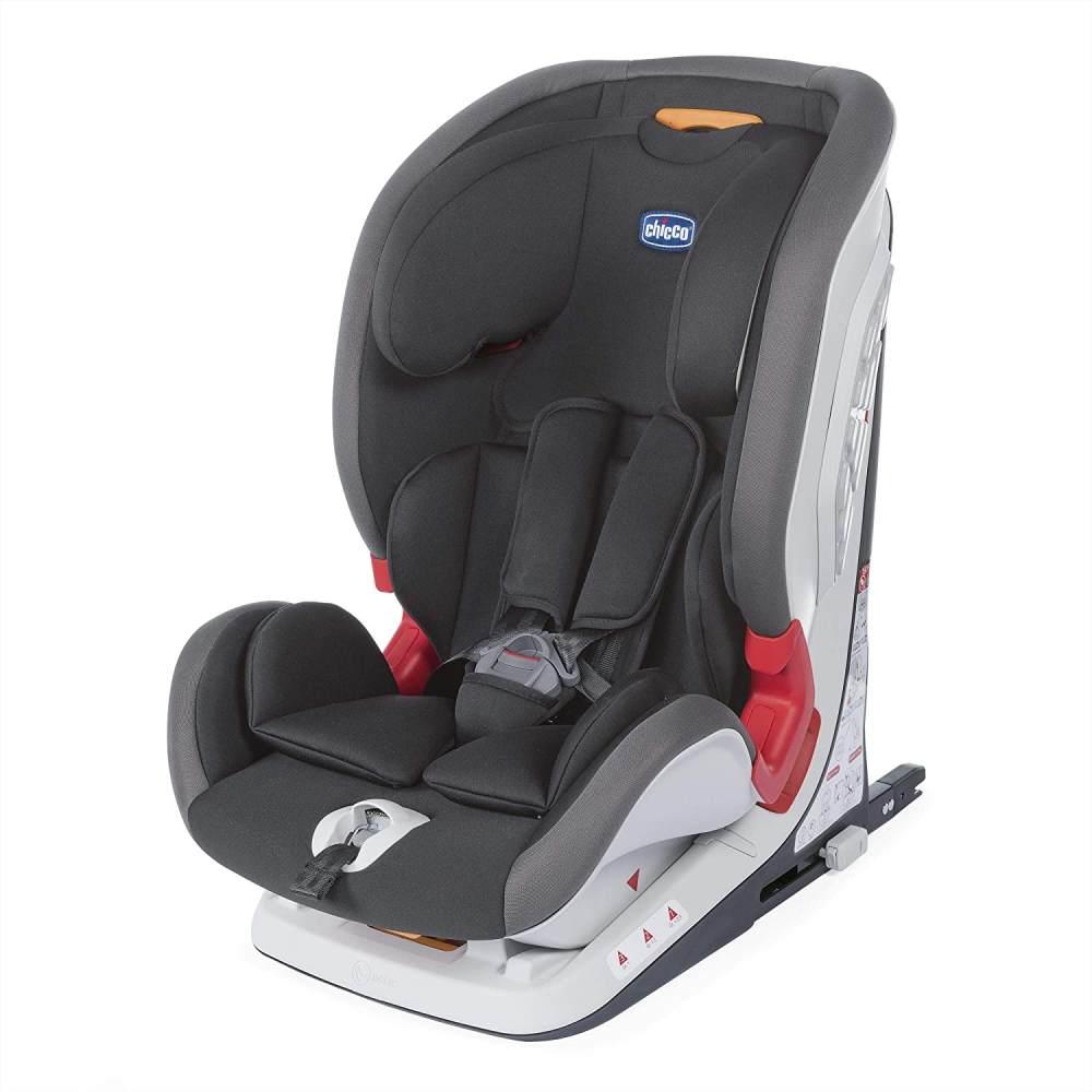 Chicco Youniverse Fix Kindersitz, Größe 1/2/3, jet black Bild 1