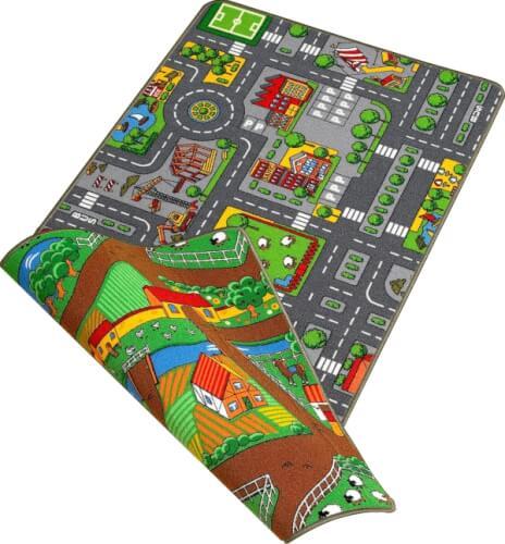 Wende-Spielteppich 100 x 190 cm Bild 1