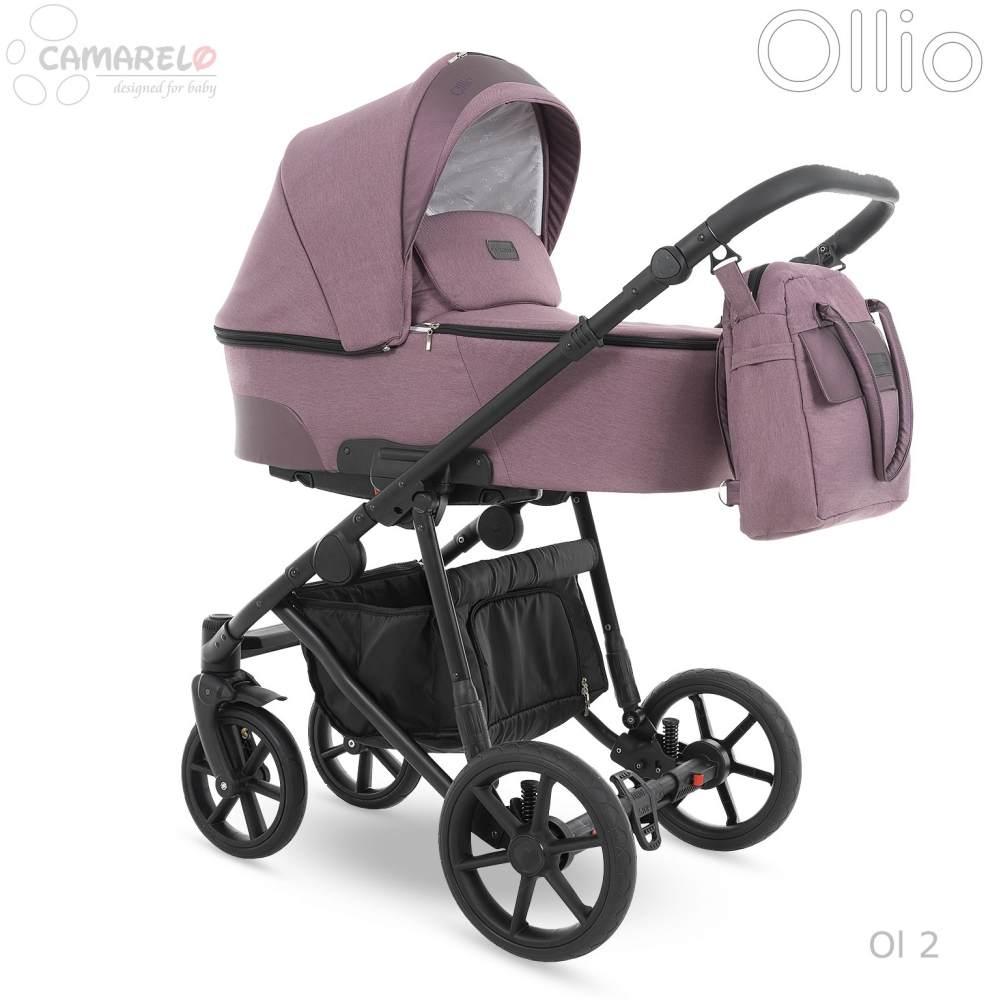 Camarelo Ollio 3in1 Kombikinderwagen Ol 2 lila Bild 1