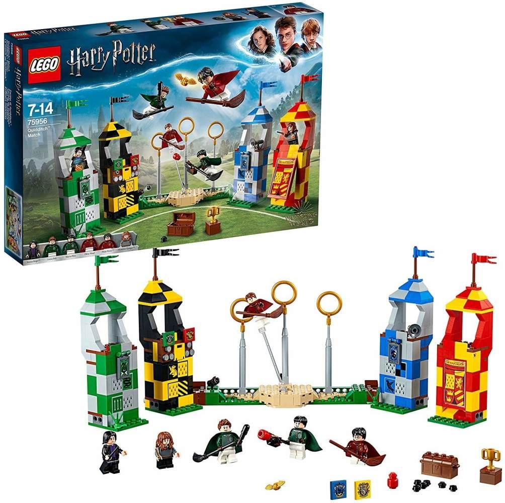 LEGO HarryPotter 75956'Quidditch Turnier', 500 Teile, ab 7 Jahren Bild 1