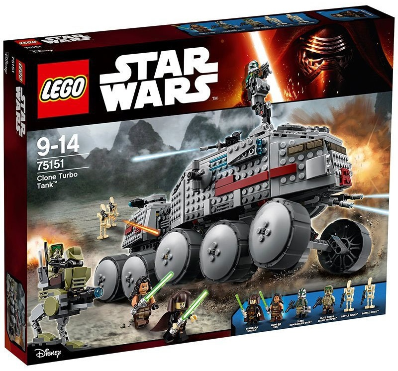 LEGO Star Wars - Clone Turbo Tank 75151 Bild 1