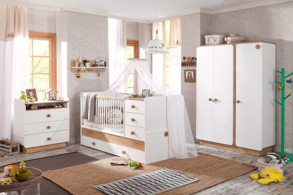 Cilek 'NATURA BABY' 4-tlg. Babyzimmer-Set Bild 1
