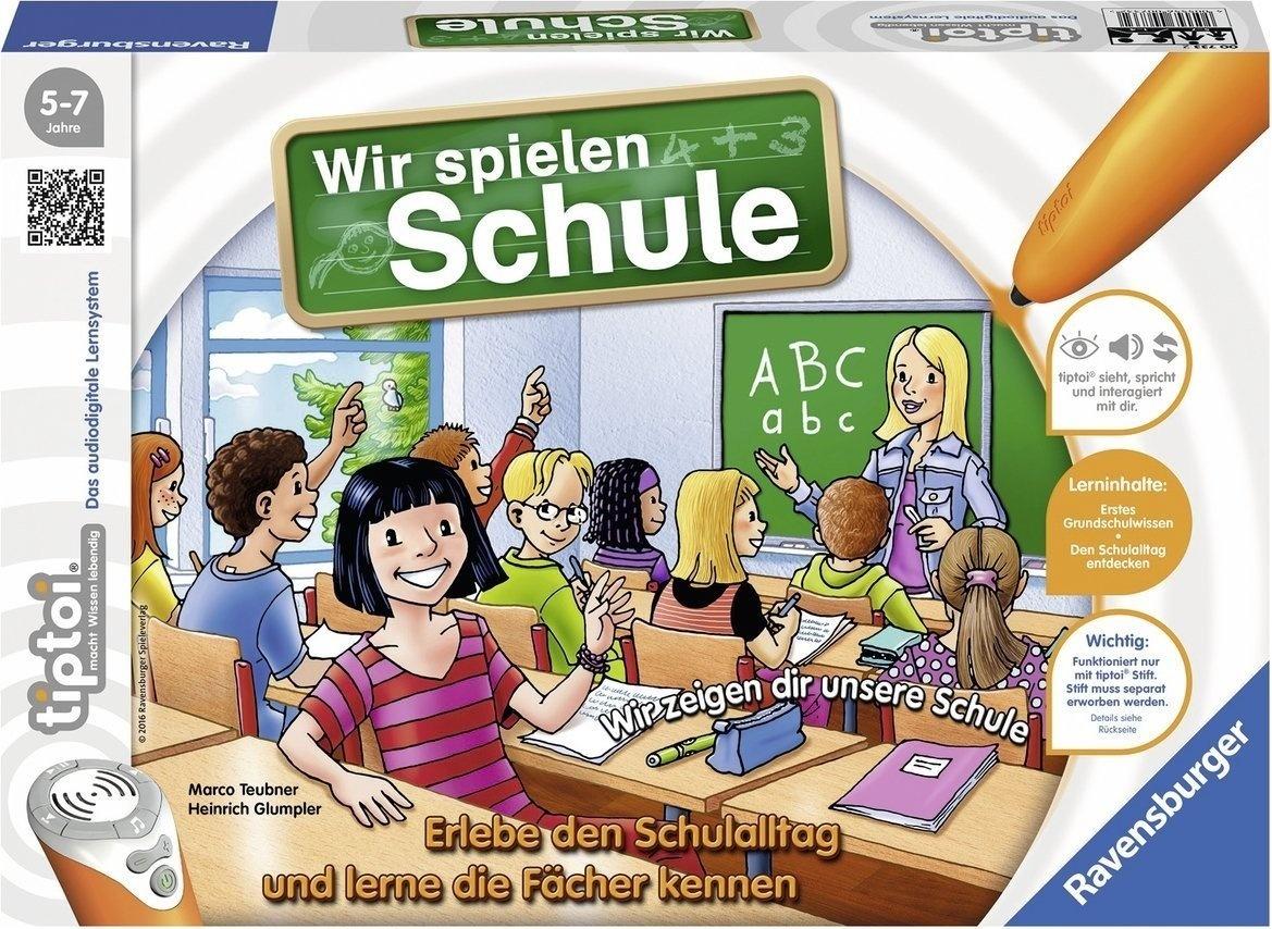 Ravensburger tiptoi 00733 - 'Wir spielen Schule' / Spiel von Ravensburger ab 5 Jahren / Erlebe interaktiv einen kompletten Schultag Bild 1