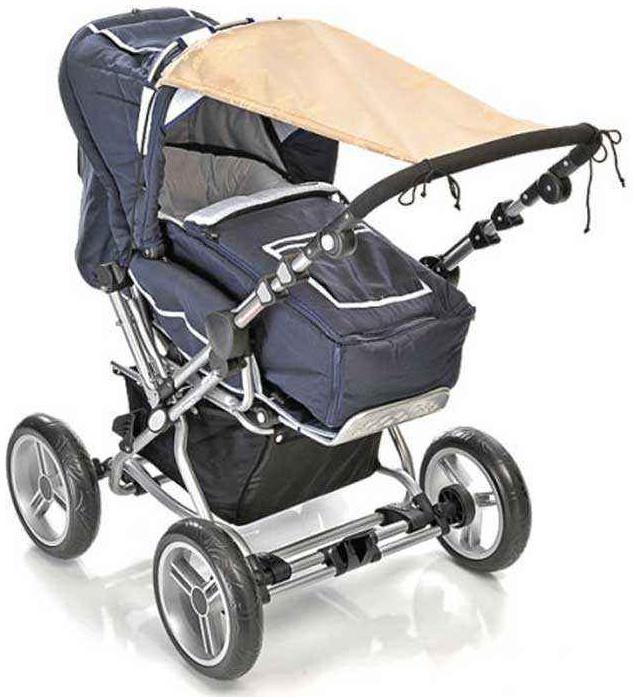 Reer Sonnensegel für Kinderwagen Beige Bild 1