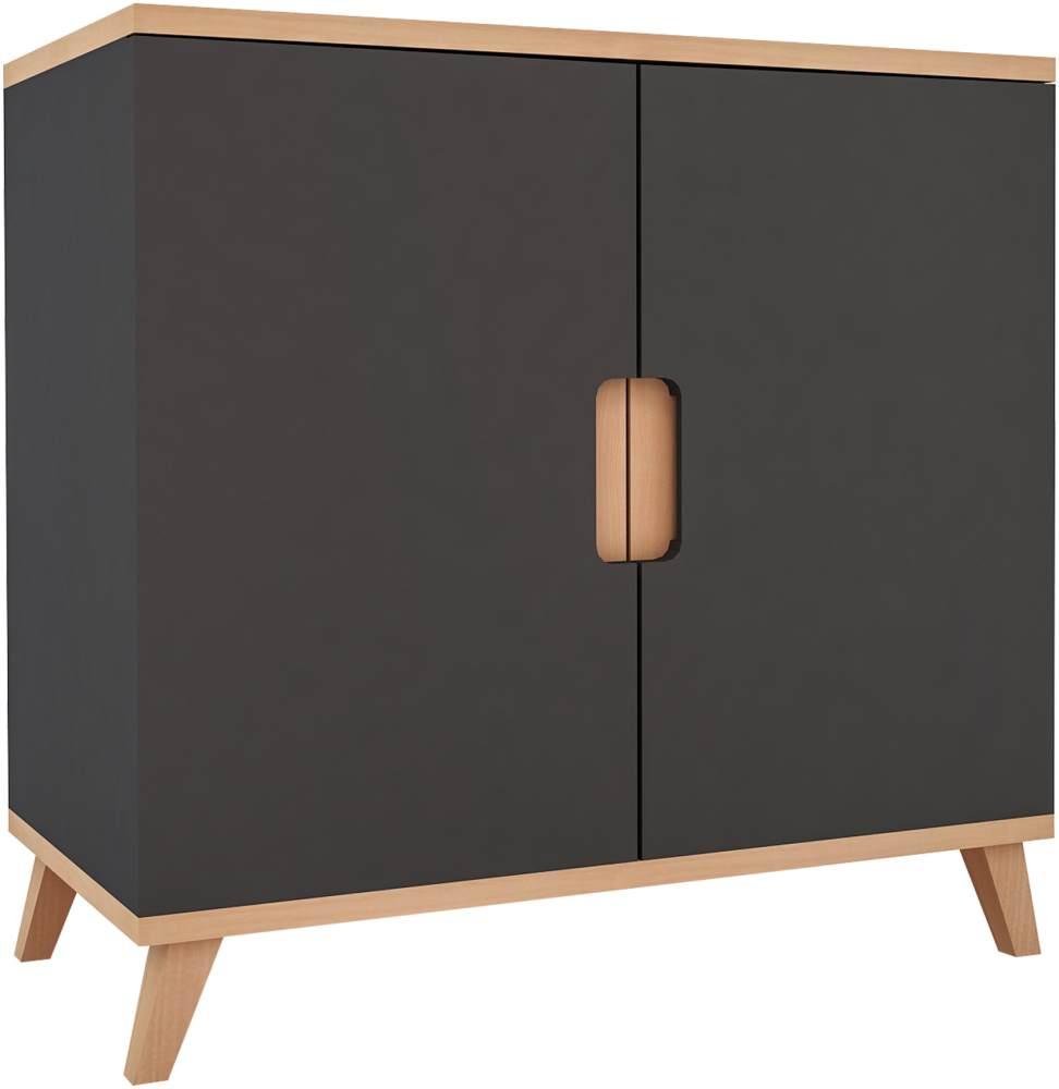 Mobi Furnitur Kommode anthrazit Bild 1
