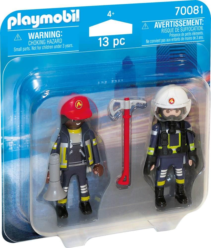 Playmobil City Action 70081 'Duo Pack Feuerwehrmann und-Frau', 13 Teile, ab 4 Jahren Bild 1
