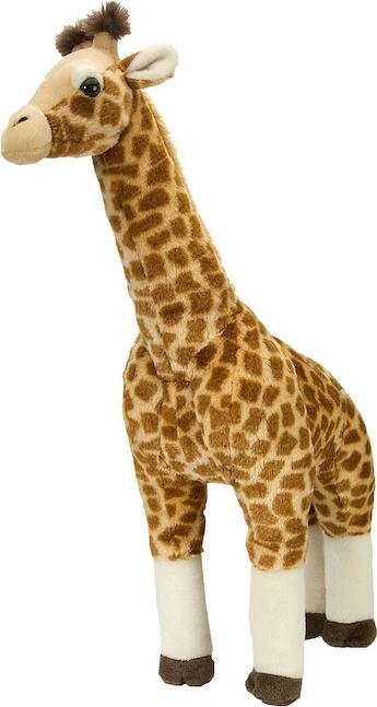 Wild Republic 12386 - Cuddlekins Giraffe stehend, groß, Plüschtier, 64 cm Bild 1