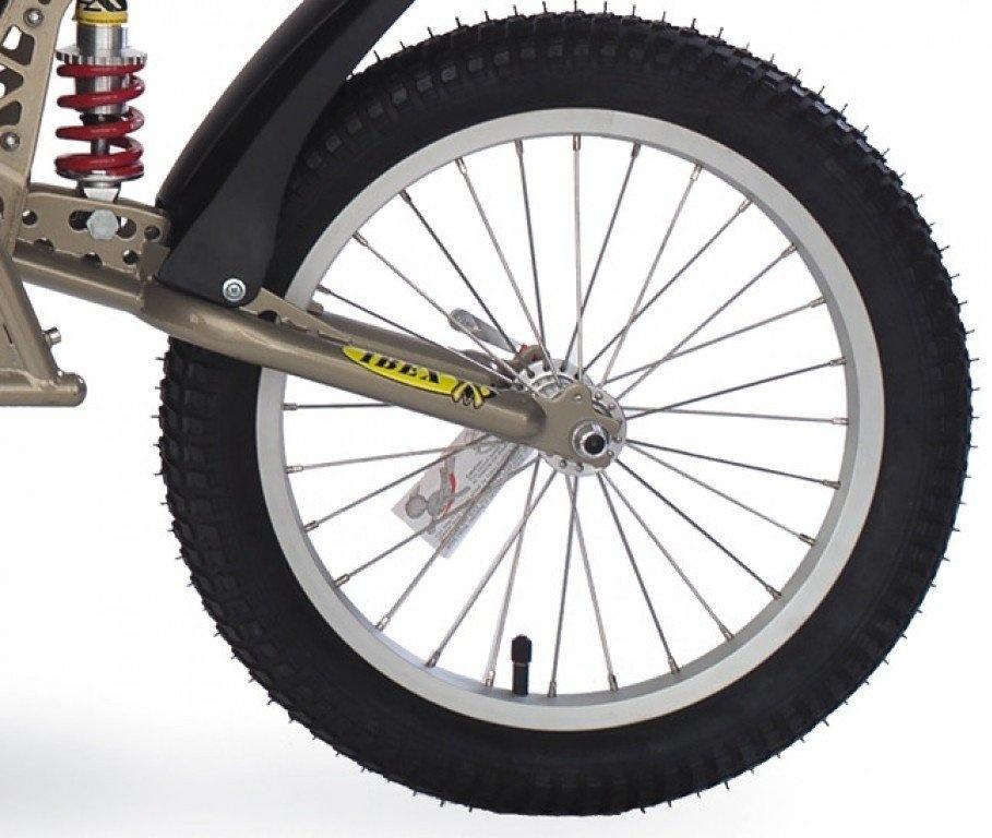 Croozer Unisex– Erwachsene Laufrad-3092049050 Laufrad, grau, One Size Bild 1