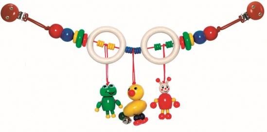 Hess-Spielzeug Wagenkette, Ente/Frosch Bild 1