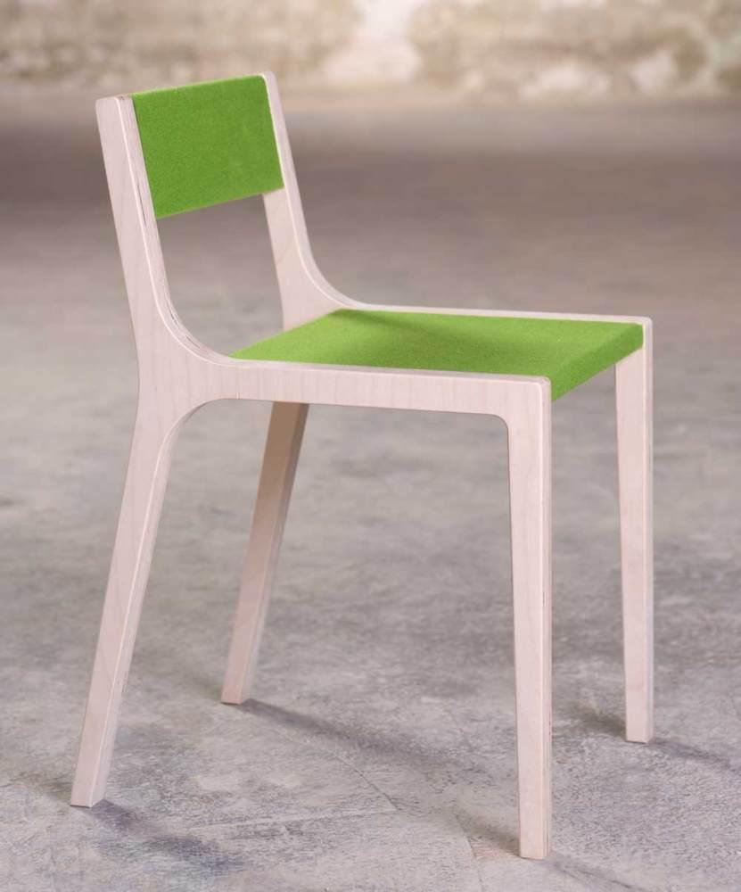 Sirch 'Sepp' Sibis Kinderstuhl grün Bild 1