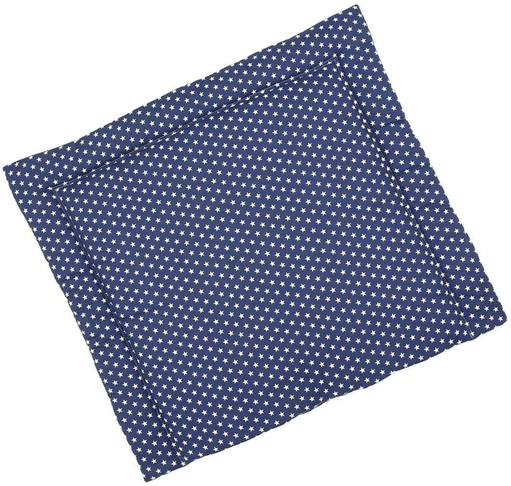 Sugarapple Wickelauflage dunkelblau, Sterne Bild 1