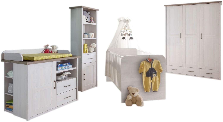 Bega 'Maila' 4.tlg Babyzimmer-Set weiß Bild 1