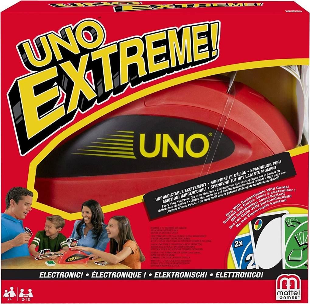 Mattel 'UNO Extreme' Kartenspiel, ab 7 Jahren, 2 - 10 Spieler, 10 - 15 min Spielzeit Bild 1