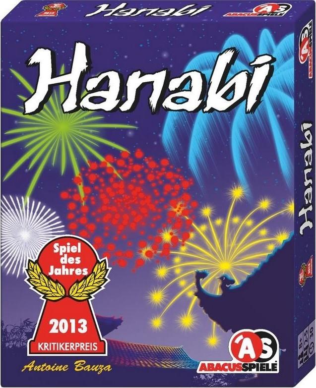 ABACUSSPIELE 08122 - Hanabi von Antoine Bauza, Spiel des Jahres 2013 Bild 1