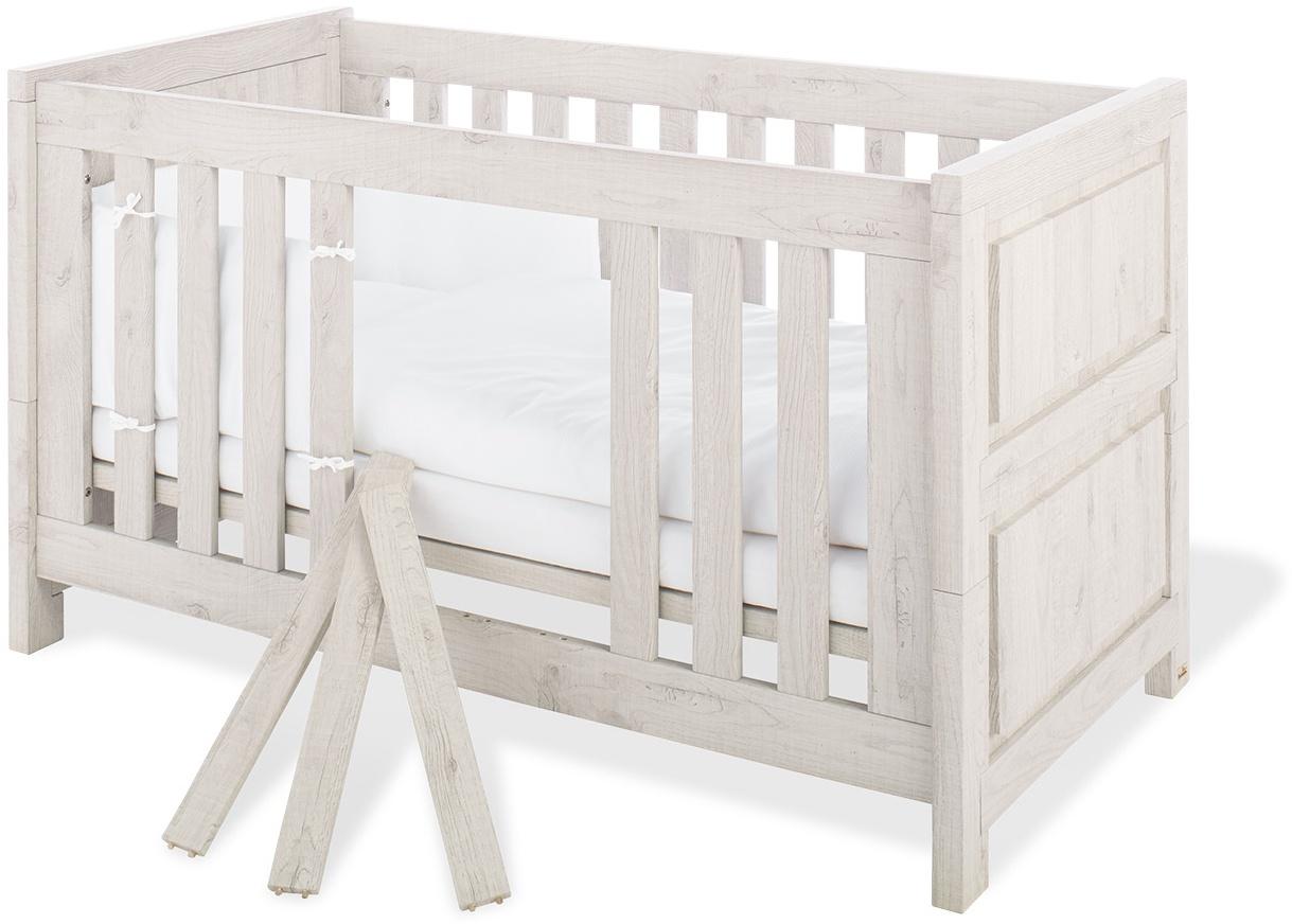 Pinolino 'Line' Kombi-Kinderbett Eiche grau Bild 1