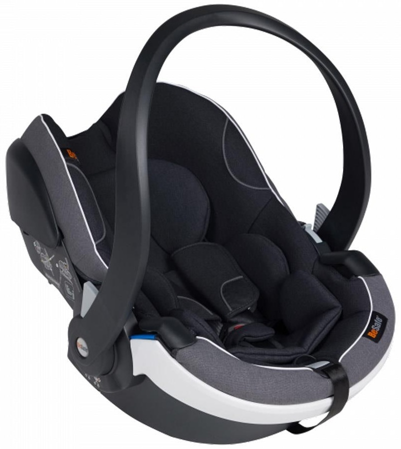 BeSafe Babyschale iZi Go Modular X1 Size Midnight Black Melange Bild 1
