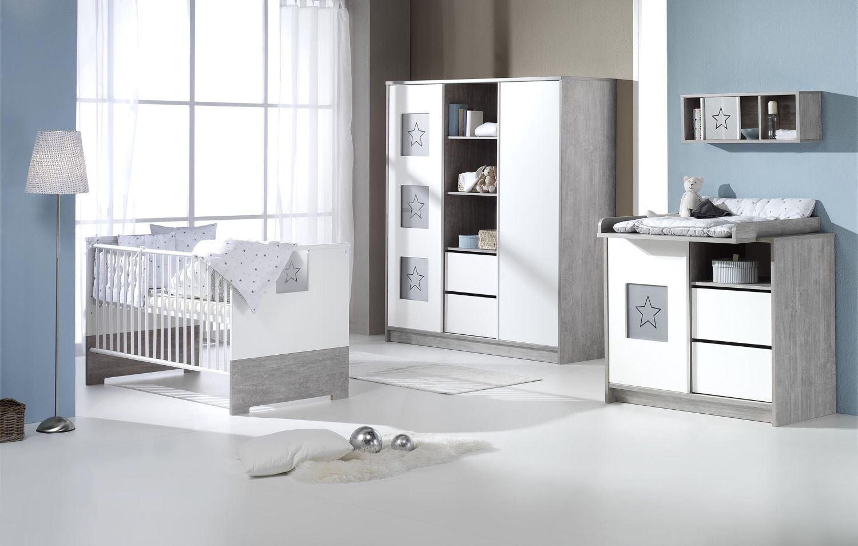 Schardt 'Eco Star' 3-tlg. Babyzimmer-Set Bild 1