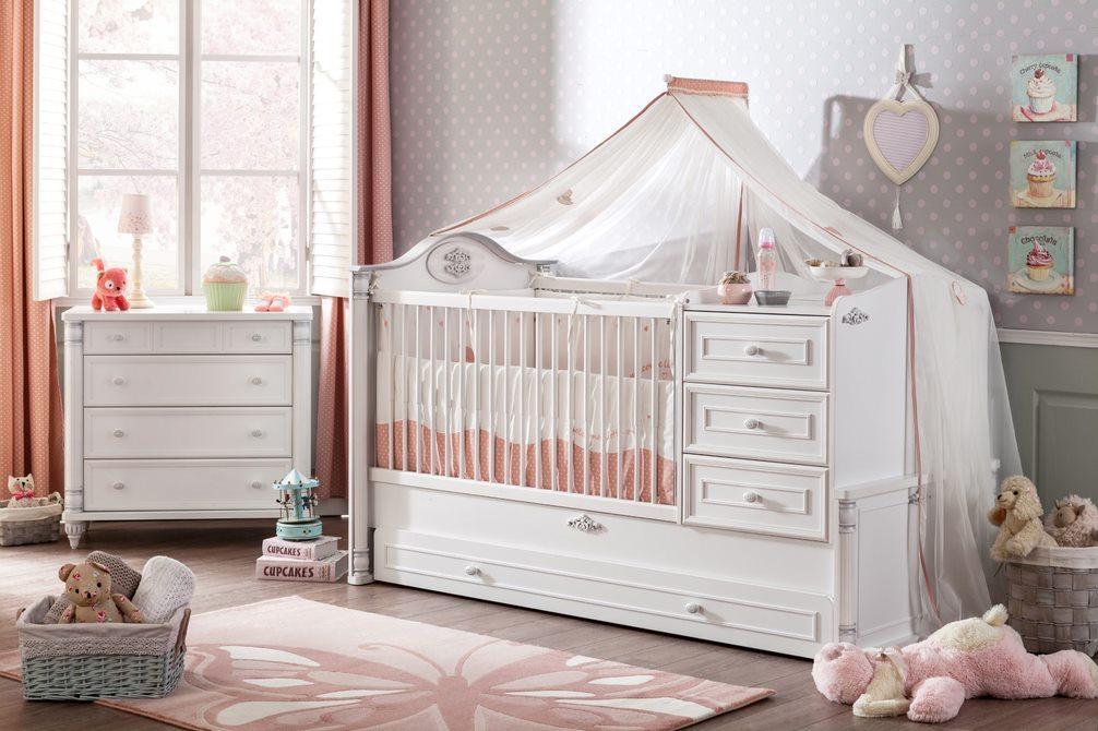 Cilek 'Romantic' 2-tlg. Babyzimmer-Set Bild 1