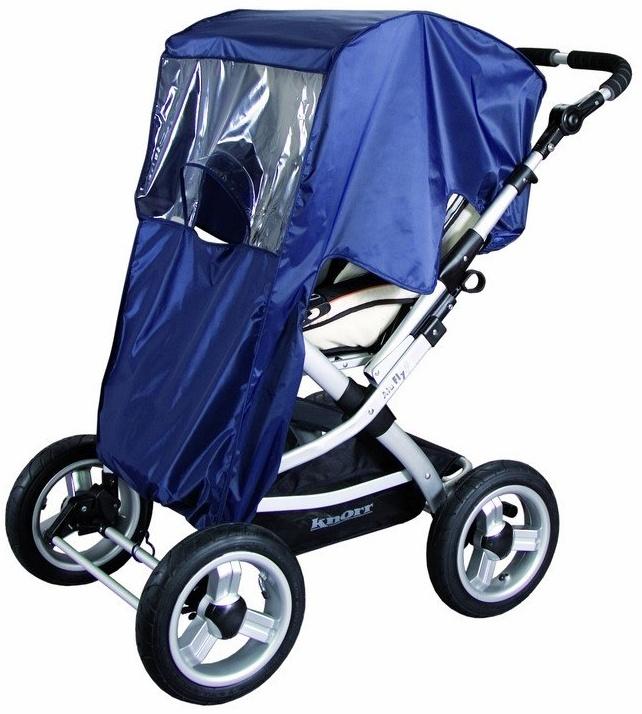 Sunny - Baby Regenverdeck aus Nylon für Verdecksportwagen - Marine Bild 1