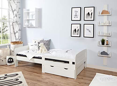 Ticaa 'Clara' Ausziehbares Kinderbett-Set Kiefer Bild 1