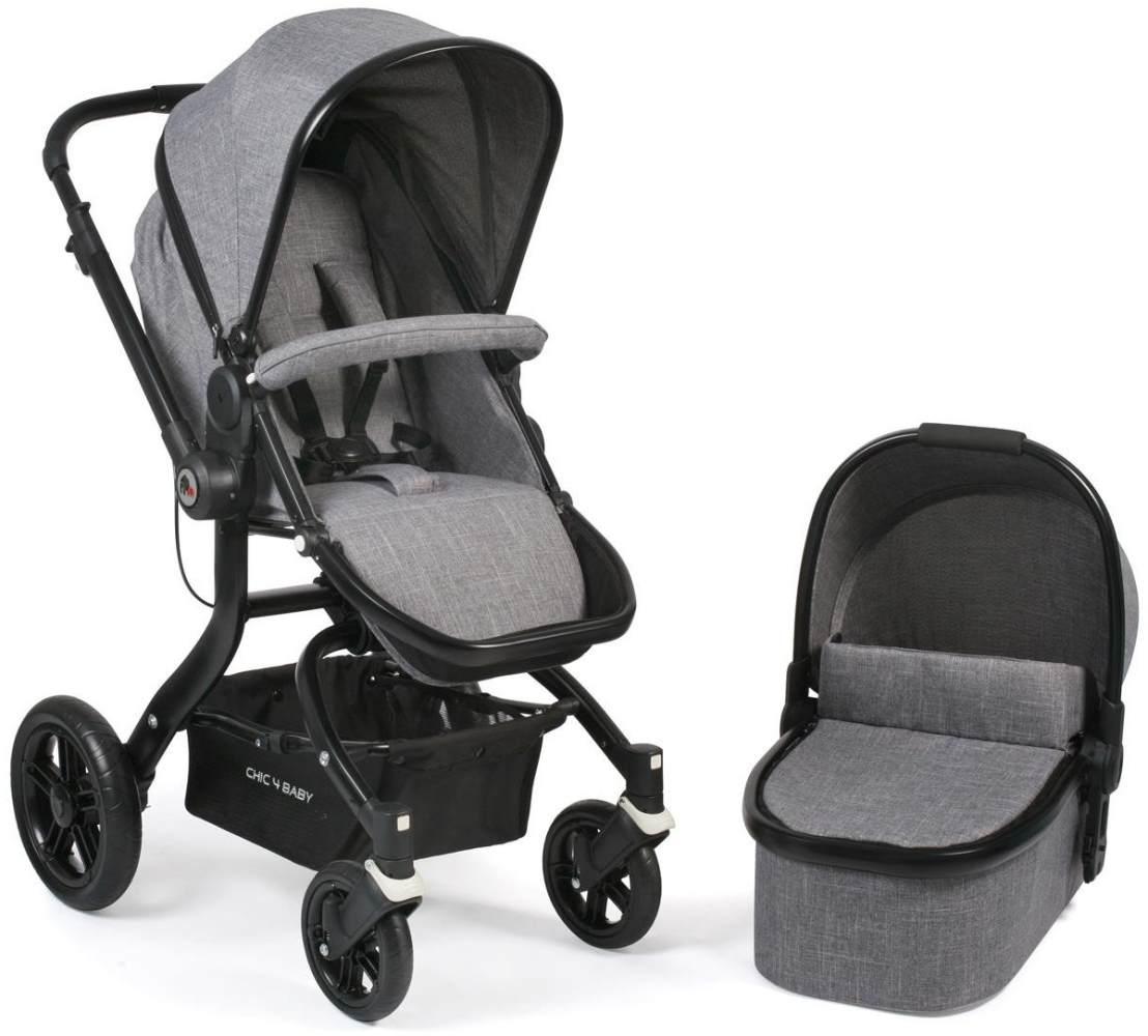 CHIC 4 BABY 173 32 Kombi-Kinderwagen Tano, Jeans, grau Bild 1