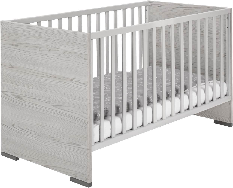 Schardt 'Pixie Grey' Kombi-Kinderbett 70x140 cm, grau Bild 1