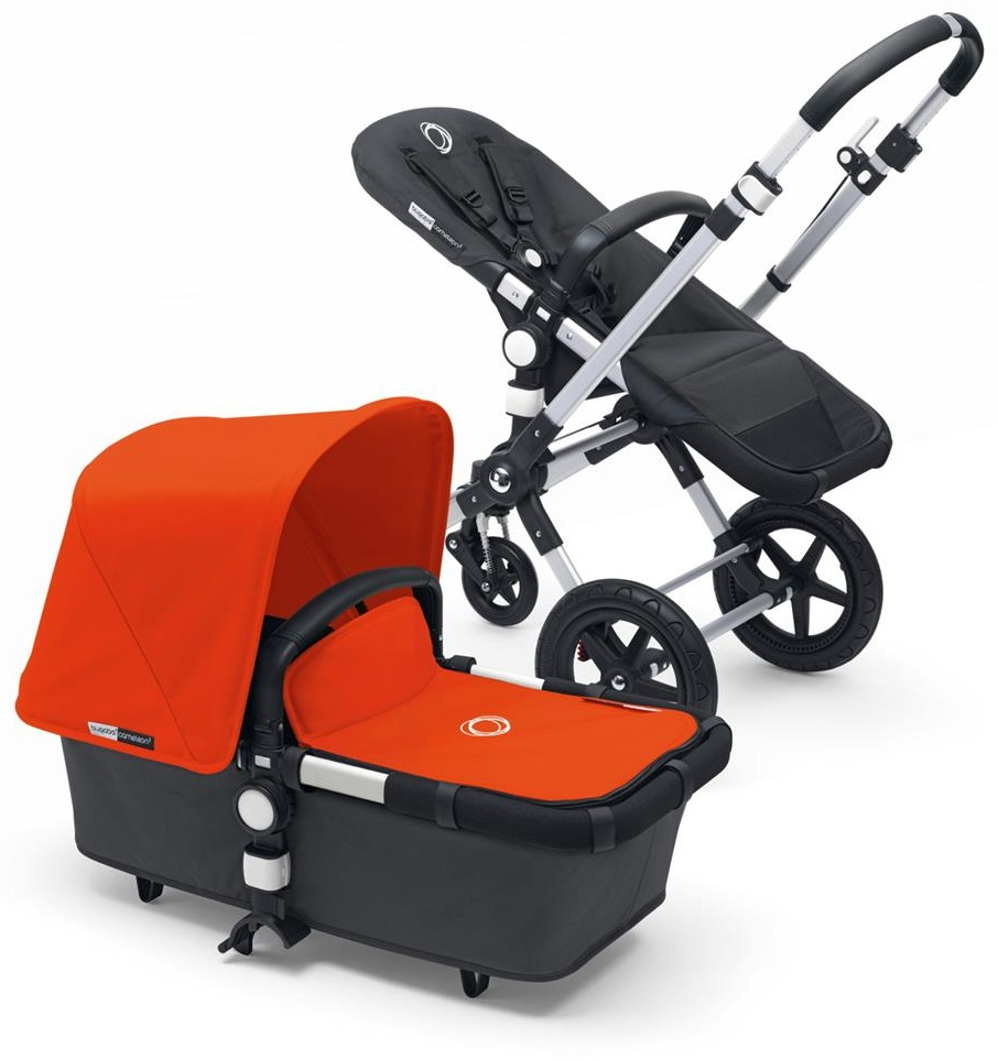 Bugaboo 'Cameleon3' Kombikinderwagen 2 in 1 Orange, inkl. SItz und Babywanne Bild 1
