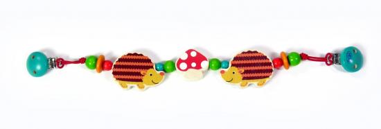 Hess-Spielzeug Wagenkette Igel Bild 1