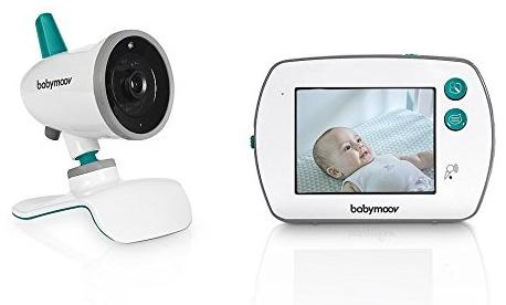 Babymoov 'YOO-Feel' Video-Babyphone, mit Kamera, 3,5 Zoll Touchscreen-Empfänger, 2-fach Zoom, Gegensprechfunktion, 250 m Reichweite Bild 1