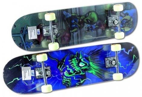 New Sports Skateboard Octopus, Länge 78,7 cm, ABEC 7 Bild 1