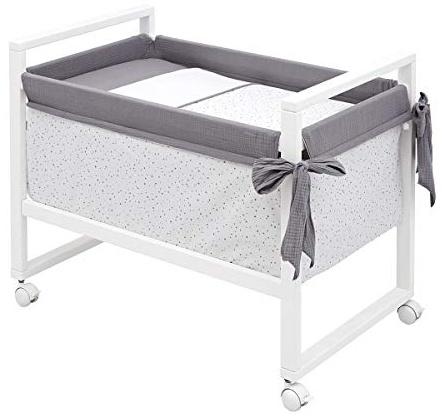 Cambrass Mini-Kinderbett, 55 x 88 x 72 cm, Astra Bild 1