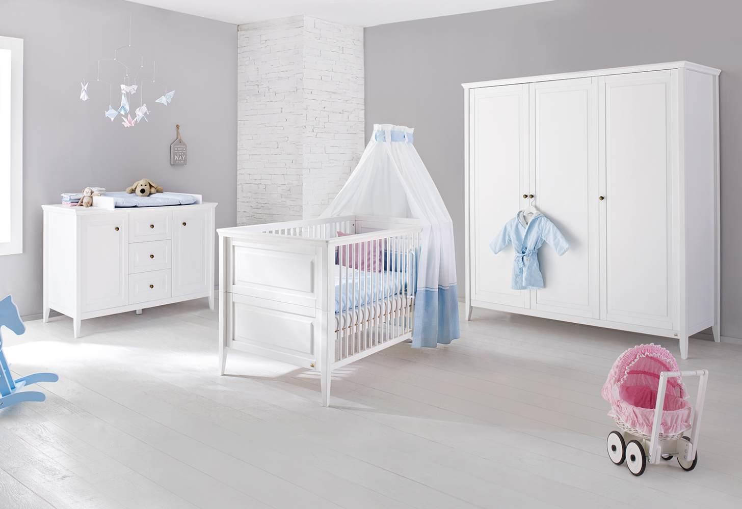 Pinolino 'Smilla' 3-tlg. Kinderzimmer-Set extrabreit groß Bild 1