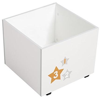 Roba 'Stars' Spielzeugkiste weiß Bild 1