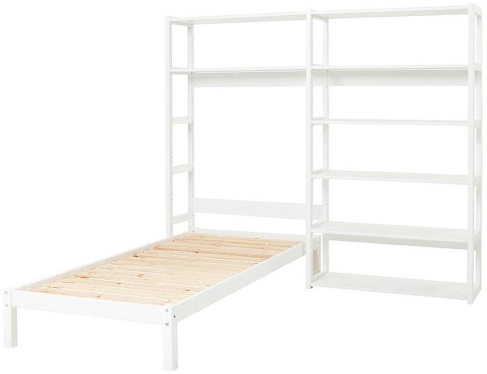 HOPPEKIDS Storey Regal Set mit 8 Regalböden und Einzelbbett 90x200 Bild 1
