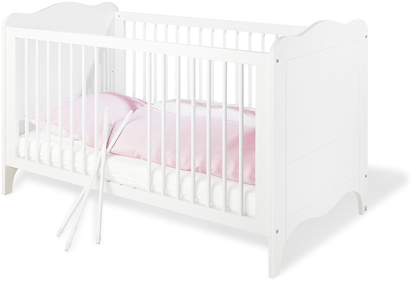 Pinolino 'Fleur' Kombi-Kinderbett weiß Bild 1