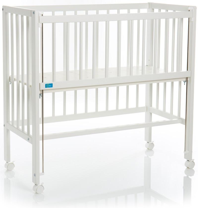 Fillikid 'Cocon Grib Exclusiv' Beistellbett weiß, inkl. Matratze Bild 1