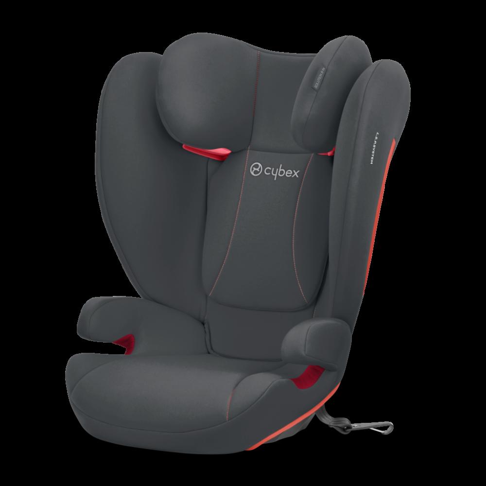 Cybex Silver 'Solution B-Fix' Kindersitz 2020 Steel Grey Gruppe 2/3 Bild 1