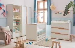 4-tlg. Babyzimmer-Set 'Spring' weiß