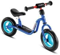PUKY 4055 'LR M' Laufrad, für Kinder ab 85 cm Körpergröße, bis 25 kg belastbar, höhenverstellbar, blau / Fußball