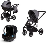 Anex 'm/type' Kombikinderwagen 2020 Iron inkl. Babyschale